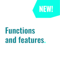 New functions and features